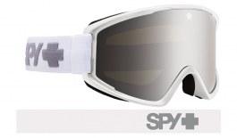 Spy Optic Crusher Elite Ski Goggles - Matte White / HD Bronze Silver Spectra
