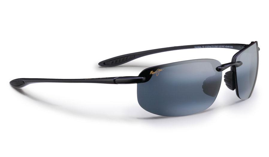 Maui Jim Ho'okipa Sunglasses - Gloss Black / Neutral Grey Polarised