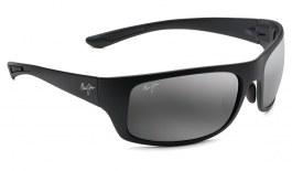 Maui Jim Big Wave Sunglasses - Matte Black / Neutral Grey Polarised