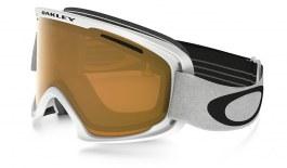 Oakley O2 XL Ski Goggles - Matte White / Persimmon