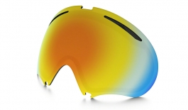 oakley a frame 20 ski goggles replacement lens kit fire iridium