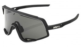 100% Glendale Sunglasses - Soft Tact Black / Smoke + Clear