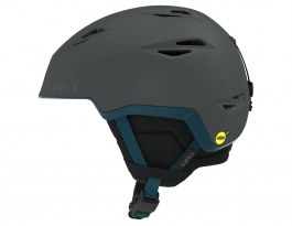 Giro Grid MIPS Ski Helmet - Protect Our Winters Collab Matte Charcoal POW
