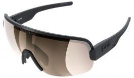 POC Aim Sunglasses - Uranium Black / Clarity Trail Brown with Silver Mirror