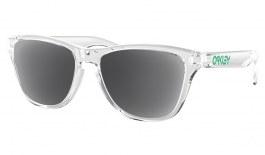 Oakley Frogskins XS Prescription Sunglasses - Polished Clear (Green Icon)