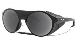 Oakley Clifden Prescription Sunglasses - Matte Black (Gold Icon)
