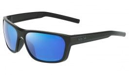 Bolle Strix Sunglasses - Matte Black / Volt+ Offshore Polarised