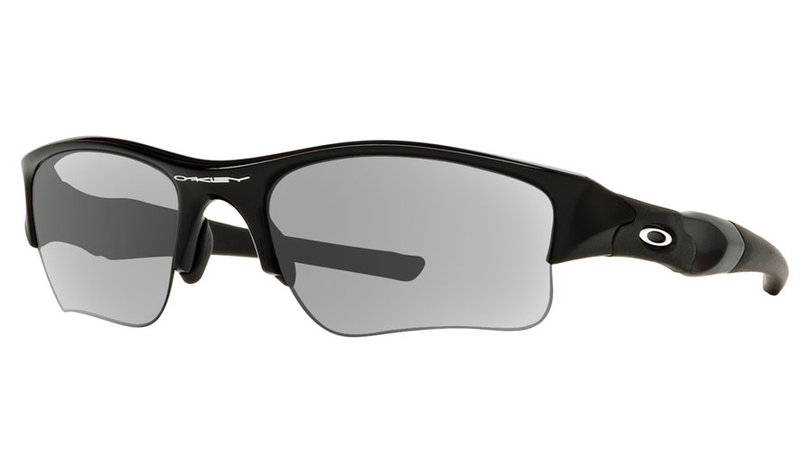 82d6e1b5279 Oakley Flak Jacket XLJ Prescription Sunglasses - Jet Black - RxSport