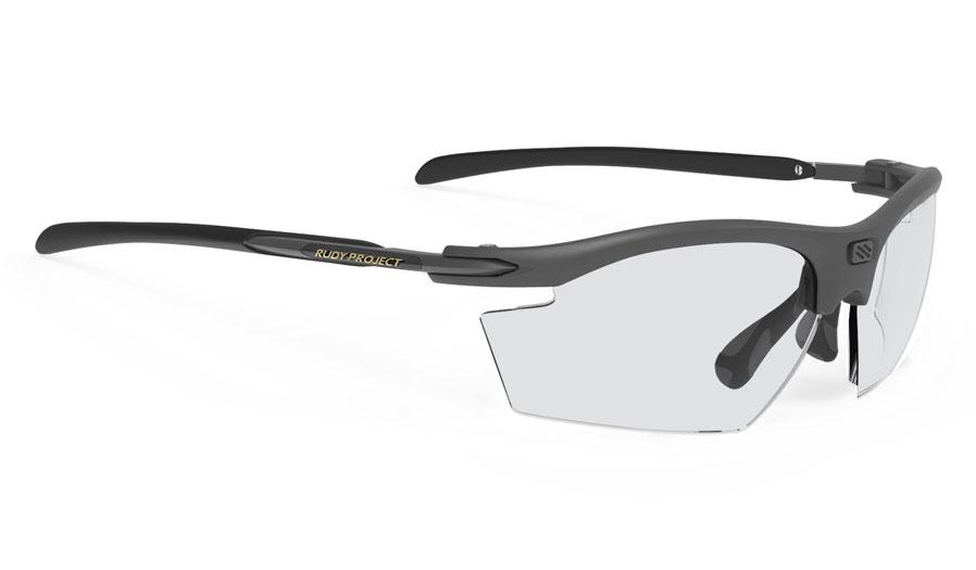 Rudy Project Rydon Prescription Sunglasses - Directly Glazed - Matte Charcoal