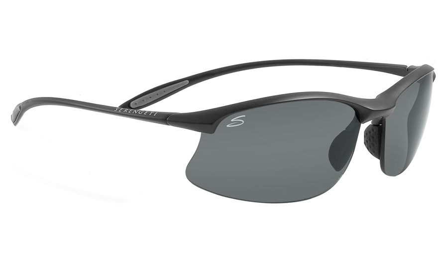 64d54e3e3f7 Serengeti Maestrale Prescription Sunglasses - Satin Black .