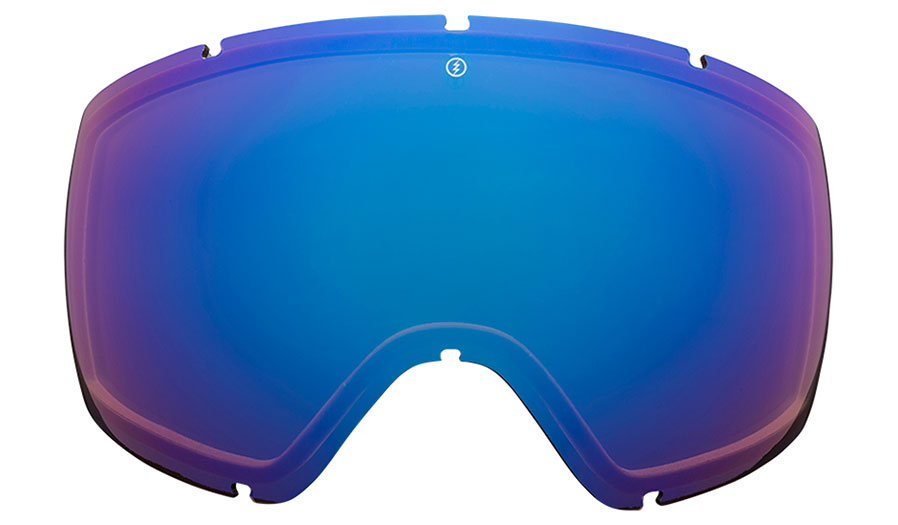 Electric EGG Ski Goggles Replacement Lens - Brose Blue Chrome