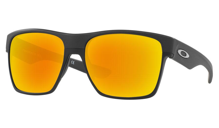 1f0ae0abf8 Oakley TwoFace XL Prescription Sunglasses - Steel (Matte Black Wire) -  RxSport