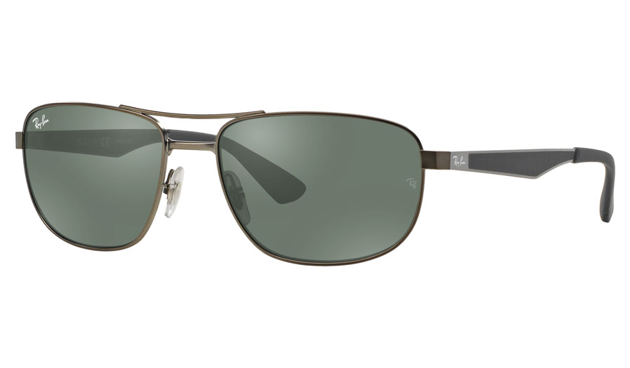 44b73bcf2c Ray-Ban RB3528 Prescription Sunglasses - Gunmetal - RxSport