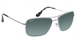 Maui Jim Wiki Wiki Sunglasses - Silver / Neutral Grey Polarised