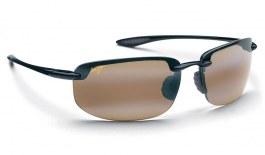 Maui Jim Ho'okipa Sunglasses - Gloss Black / HCL Bronze Polarised