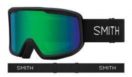 Smith Frontier Ski Goggles - Black / Green Sol-X Mirror