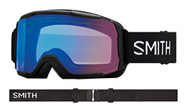 Smith Optics Showcase Prescription Ski Goggles - Black / ChromaPop Storm Rose Flash