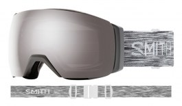 Smith I/O MAG XL Ski Goggles - Cloudgrey / ChromaPop Sun Platinum Mirror + ChromaPop Storm Rose Flash