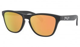 Oakley Frogskins XS Sunglasses - Matte Black / Prizm Rose Gold