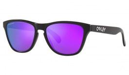 Oakley Frogskins XS Sunglasses - Matte Black / Prizm Violet