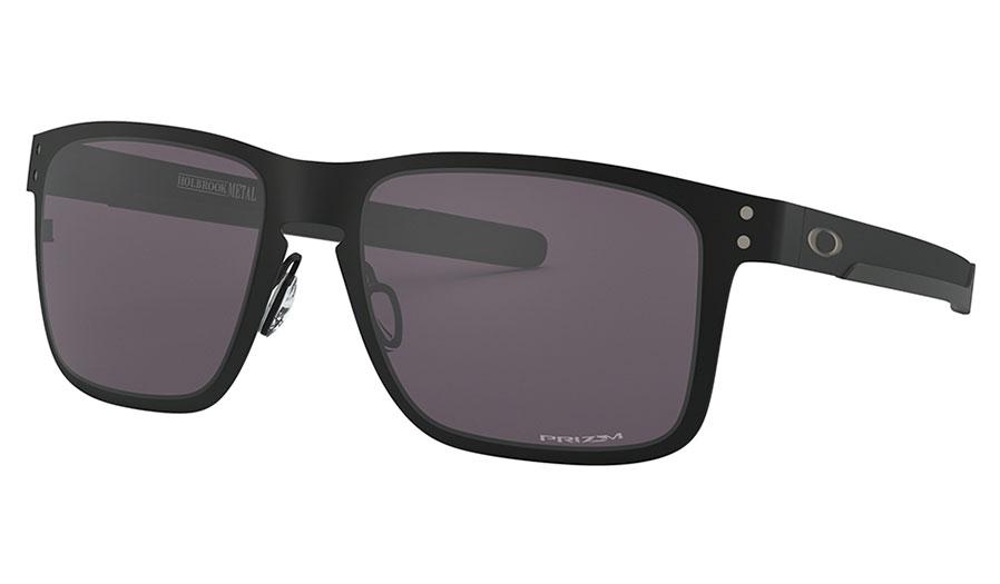 Oakley Holbrook Metal Sunglasses - Matte Black / Prizm Grey