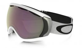 Oakley Canopy Ski Goggles - Matte White/ Prizm HI Pink Iridium