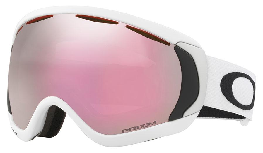 e69910bc47 Oakley Canopy Ski Goggles - Matte White   Prizm HI Pink Iridium ...
