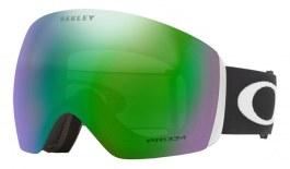 Oakley Flight Deck XL Prescription Ski Goggles - Matte Black / Prizm Jade Iridium