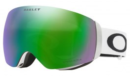 Oakley Flight Deck XM Prescription Ski Goggles - Matte White / Prizm Jade Iridium