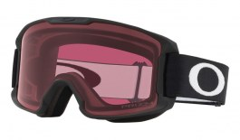 Oakley Line Miner Youth Ski Goggles - Matte Black / Prizm Dark Grey