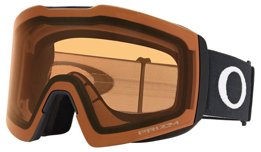 Oakley Fall Line XL Ski Goggles - Matte Black / Prizm Persimmon