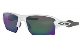 Oakley Flak 2.0 XL Sunglasses - Polished White / Prizm Jade