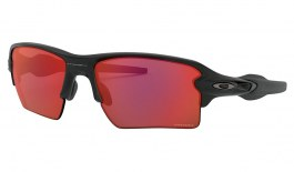 Oakley Flak 2.0 XL Sunglasses - Matte Black / Prizm Trail Torch