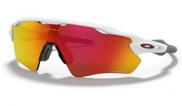 Oakley Radar EV Path Sunglasses - Polished White / Prizm Ruby