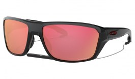 Oakley Split Shot Sunglasses - Polished Black / Prizm Snow Torch