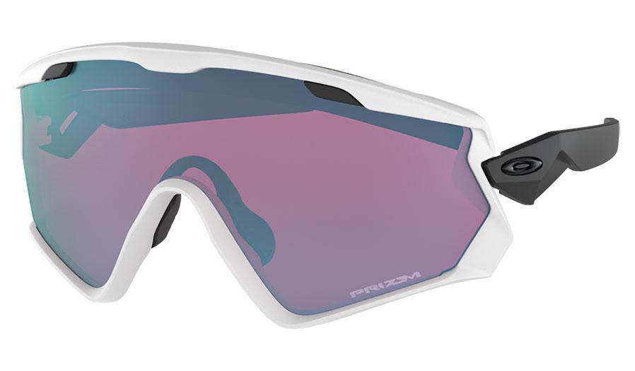 6d13a6d412103 Oakley Wind Jacket 2.0 Ski Sunglasses - Matte White   Prizm Snow ...