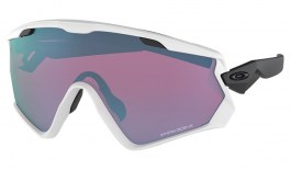 Oakley Wind Jacket 2.0 Ski Sunglasses - Matte White / Prizm Snow Sapphire Iridium