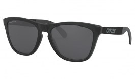 Oakley Frogskins Mix Sunglasses - Matte Black Ink / Prizm Black Polarised