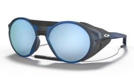 Oakley Clifden Sunglasses - Matte Translucent Blue / Prizm Deep Water Polarised