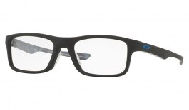 Oakley Plank 2.0 Prescription Glasses - Satin Black - Essilor Prescription Lenses