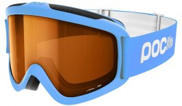 POC POCito Iris Ski Goggle - Fluorescent Blue / Sonar Orange
