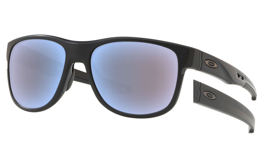 d838fcc52a Oakley Crossrange R Prescription Sunglasses. Colour  Matte Black (Carbon ...