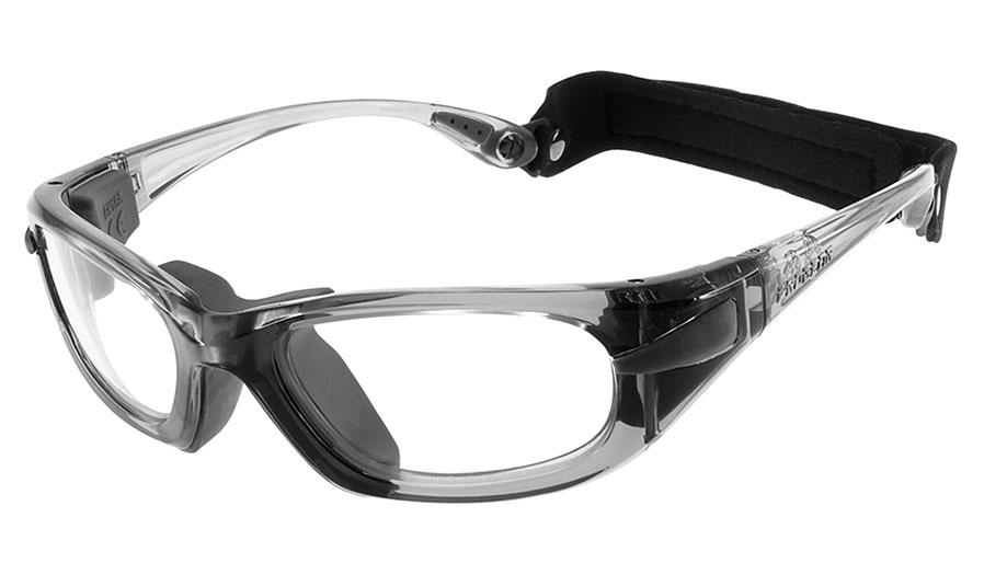 dd98753c0ddf Progear Eyeguard Glasses - Transparent Grey / Clear - RxSport