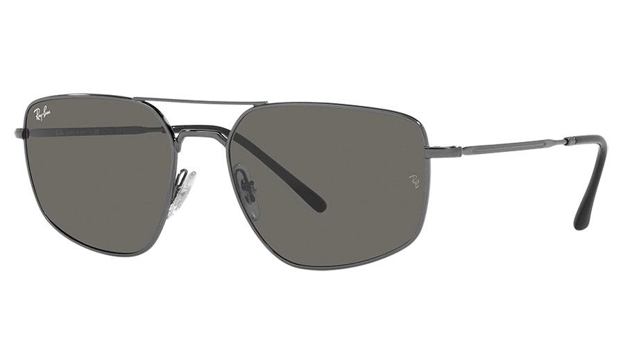 Ray-Ban RB3666 Sunglasses - Gunmetal / Dark Grey