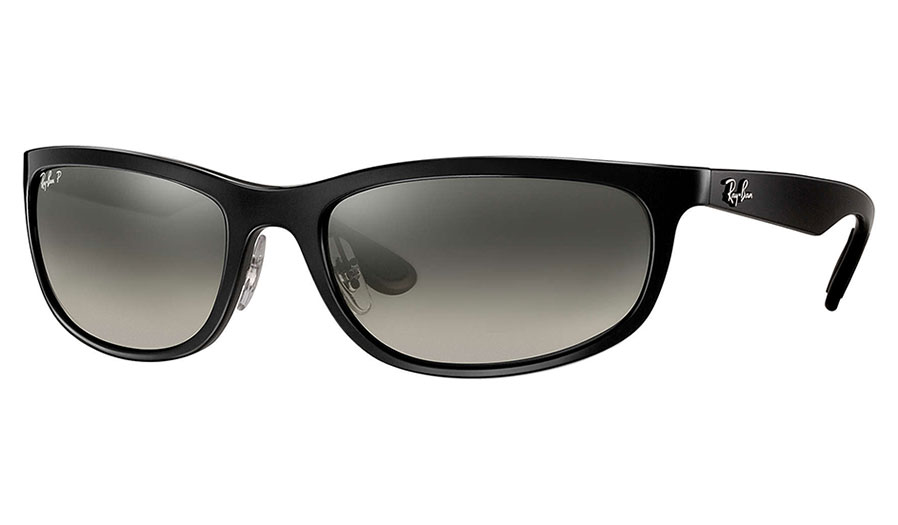 94a359aa74 Ray-Ban RB4265 Sunglasses - Black   Silver Mirror Chromance Polarised -  RxSport