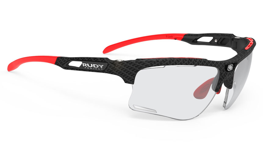 Rudy Project Keyblade Prescription Sunglasses - ImpactRX Directly Glazed - Carbonium