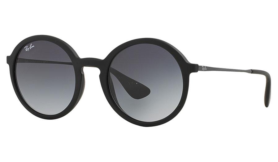 0617f1dbaf 1. 2. 3. PrevNext. Ray-Ban RB4222 Sunglasses - Black Rubber   Grey Gradient