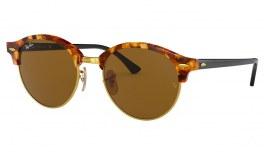 Ray-Ban RB4246 Clubround Sunglasses - Tortoise / Brown Classic