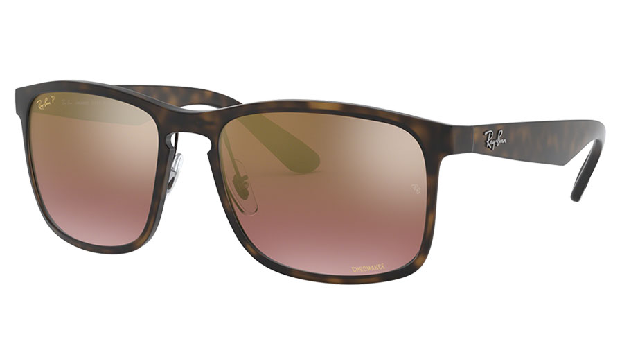 Ray-Ban RB4264 Sunglasses - Tortoise / Purple Mirror Chromance Polarised