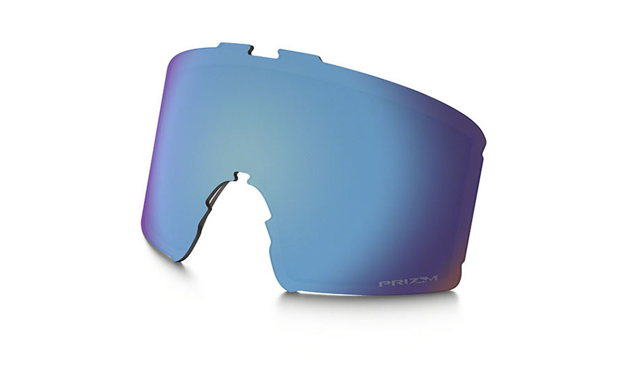 Oakley Line Miner Youth Ski Goggles Replacement Lens Kit - Prizm Sapphire Iridium